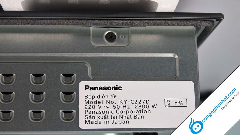 Bếp từ Nhật Panasonic tại sao lại có giá thành cao?