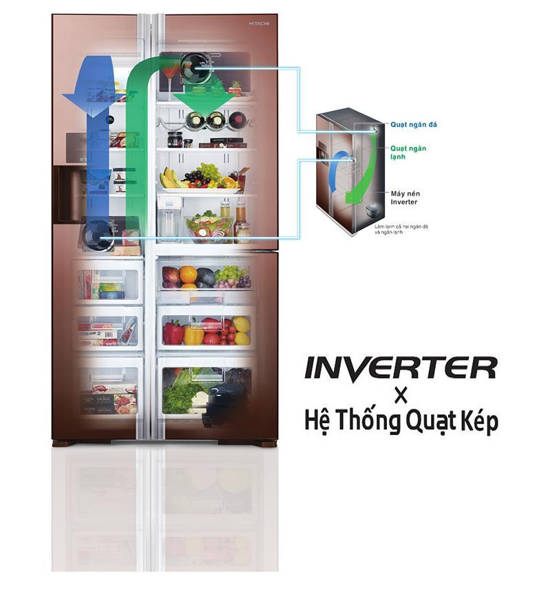 Tìm hiểu 2 công nghệ khử mùi và làm lạnh nhanh của tủ lạnh Hitachi
