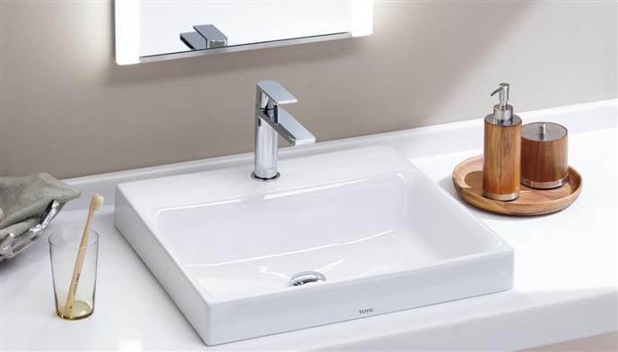 Sử dụng thiết bị vệ sinh Toto mang lại sự tinh tế, sang trọng cho phòng tắm