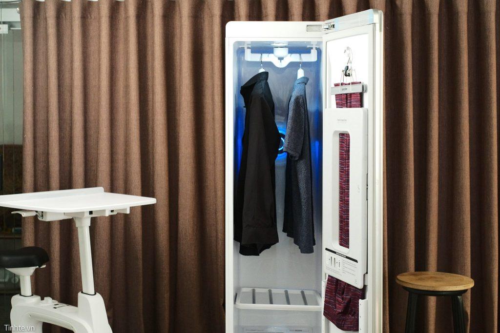 Máy giặt hấp sấy LG Styler có đặc điểm gì?