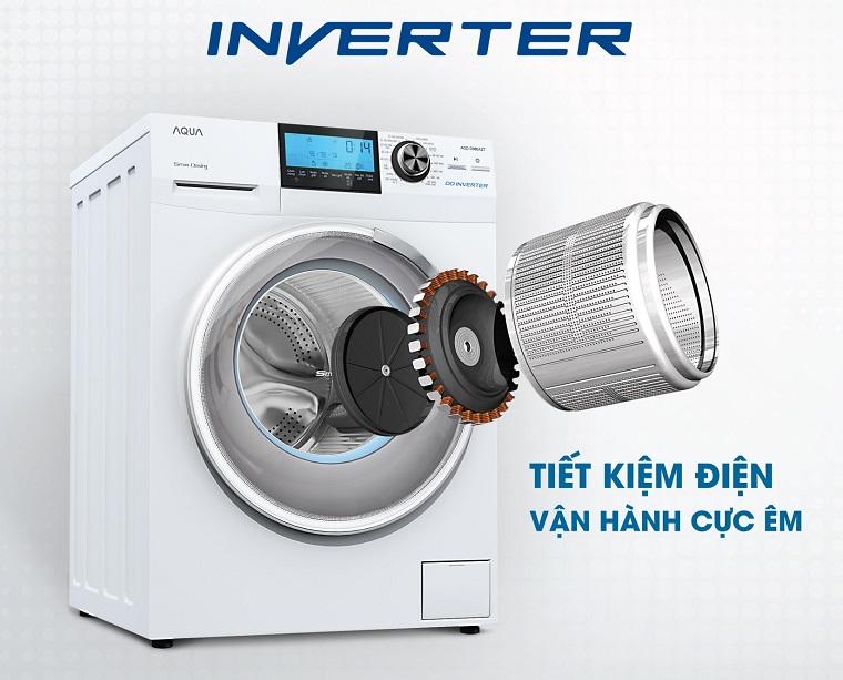 Tìm hiểu về dòng máy giặt INVERTER